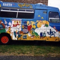 Dave Wiggins Earth vs camper van circa. 1996
