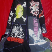 Lynn Vaughan's customised coat