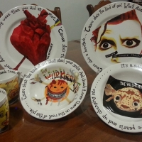 Tony Simpson's Wildhearts dinner set